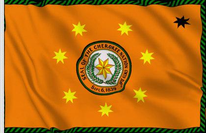 Flag Cherokee