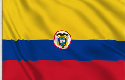 Flag Colombia Naval Ensign