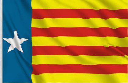 Flag Estelada valenciana