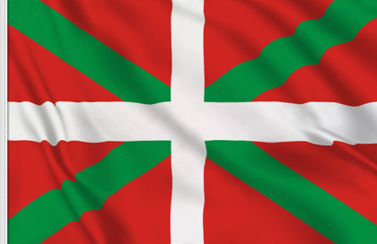 Basque Country Table Flag