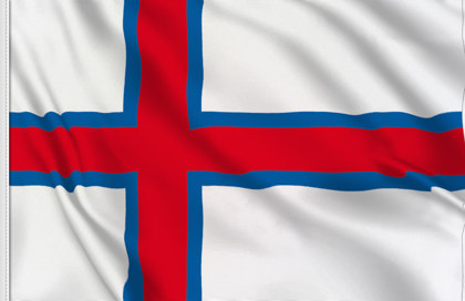 Faroe Islands Table Flag