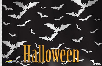 Flag Halloween bats