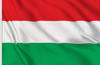 Hungary Table Flag