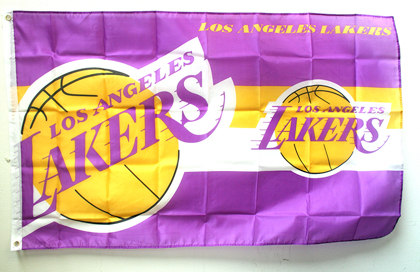 Flag Los Angeles Lakers