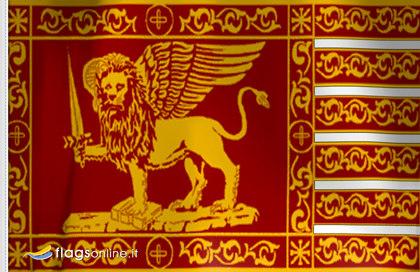 Bandera Leon San Marcos Venecia