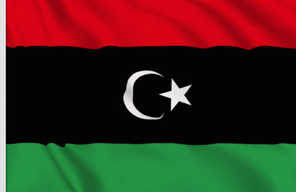 Libya Table Flag