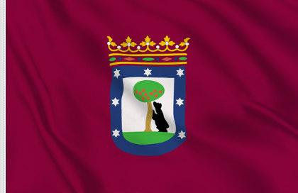 Flag Madrid city