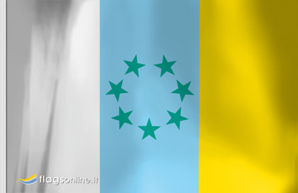Flag Canarian Nation