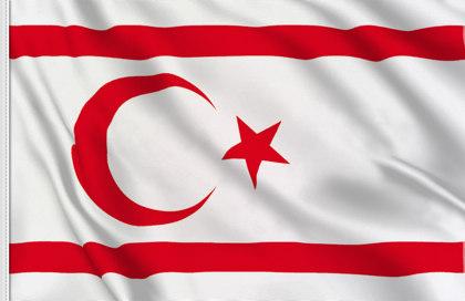 Bandera Chipre del Norte