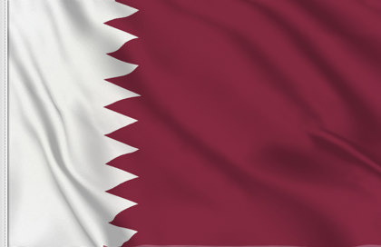 Qatar Table Flag