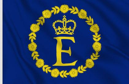 Bandera Estandarte de Isabel II