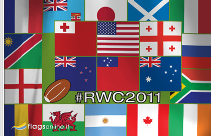 Flag World of Rugby