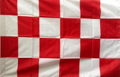 Flag red white checkered