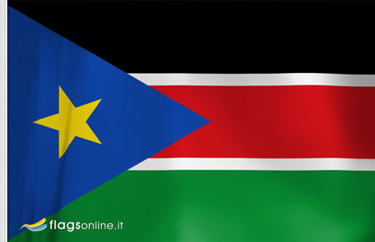 South of Sudan Table Flag