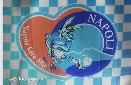 Bandera Napoli Napule Core Mio