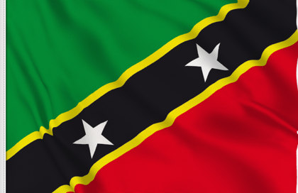 Flag Saint Kitts