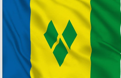 Saint Vincent Table Flag