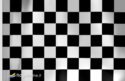 Bandera Fin de la sesion carrera