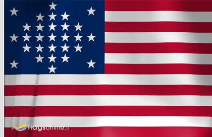 Flag US Diamond Pattern Starfield 1847 - 184