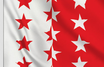 Flag Valais-Wallis