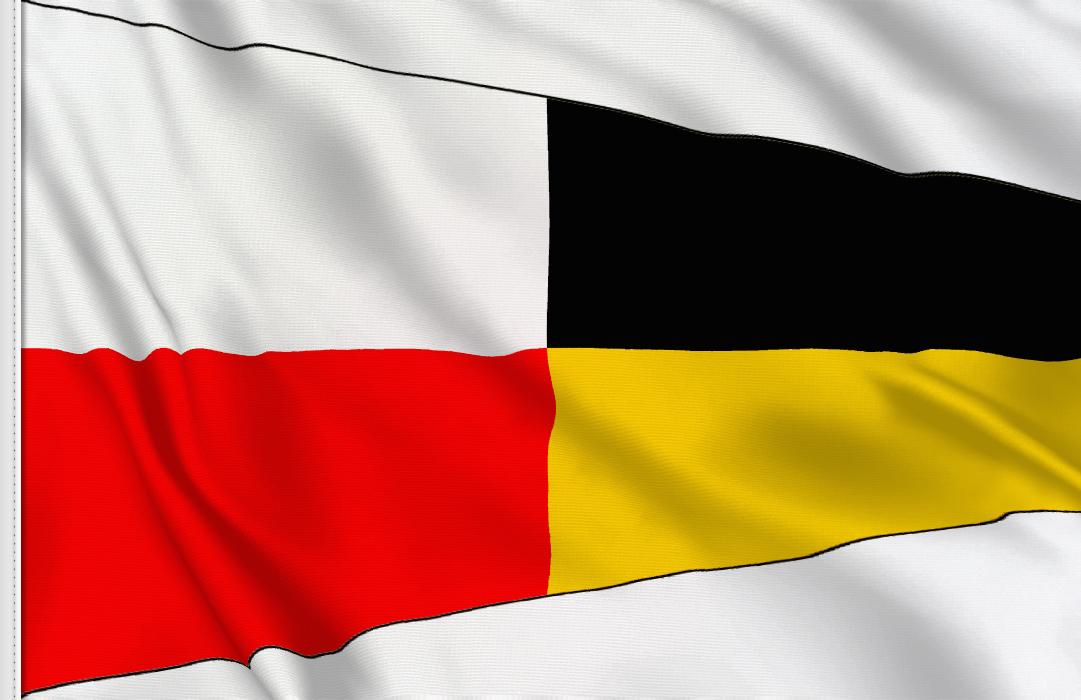 Numero 9 flag