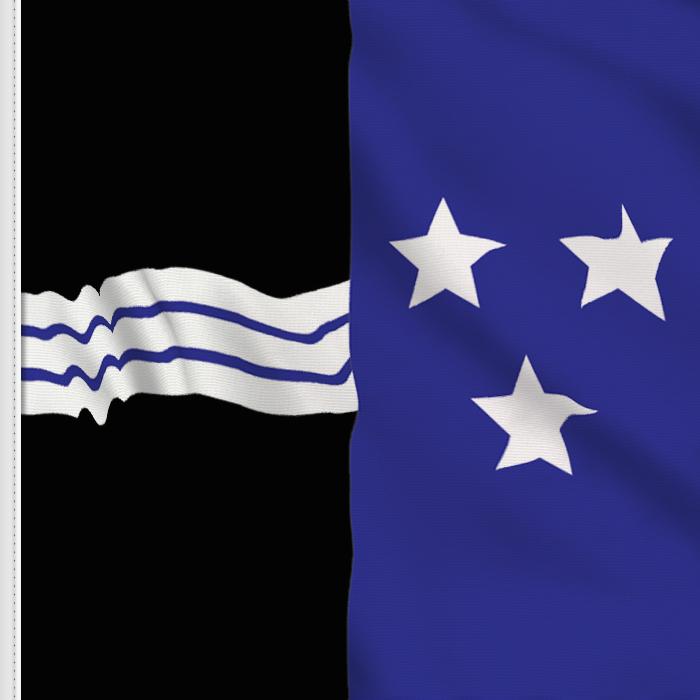 bandera adhesiva de Aargau