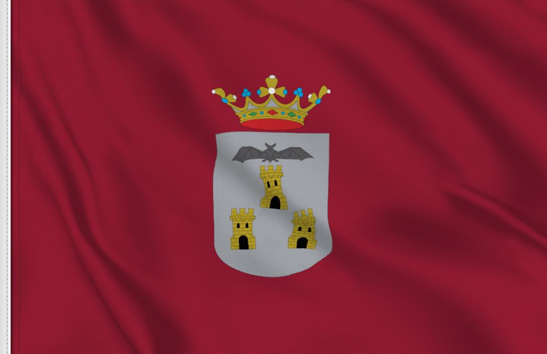 fahne Albacete, flagge von Albacete