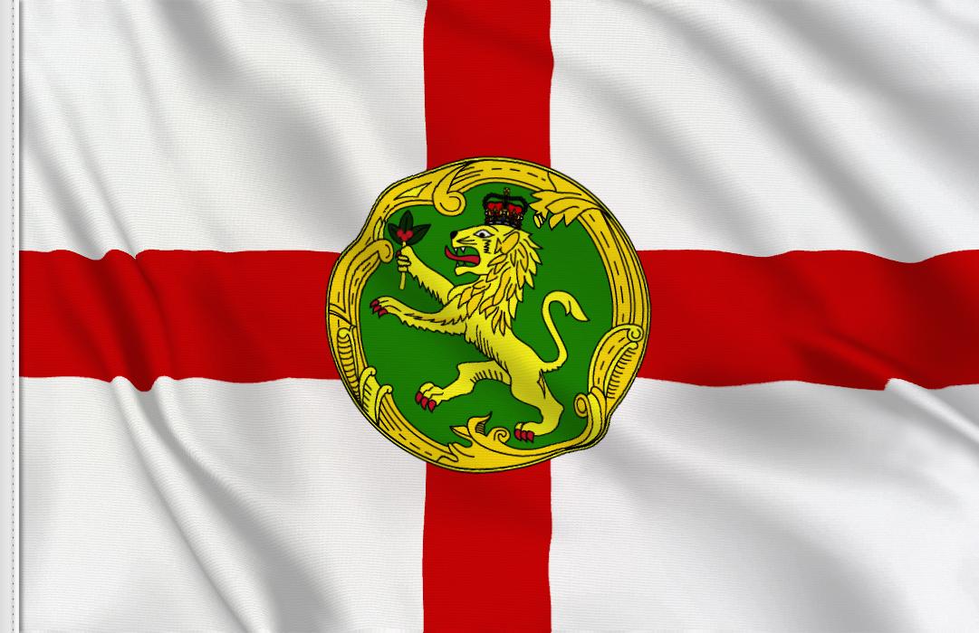 fahne Alderney, flagge von Alderney