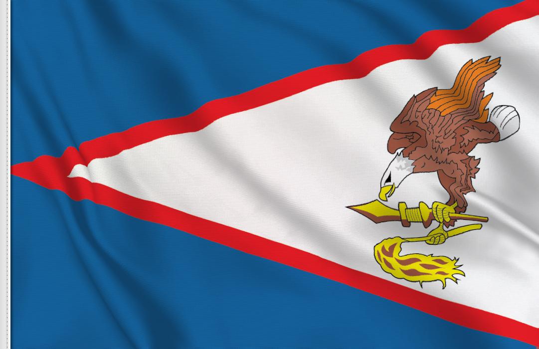 Samoa Americana flag