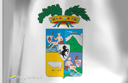 fahne Arezzo Provinz, flagge von Arezzo