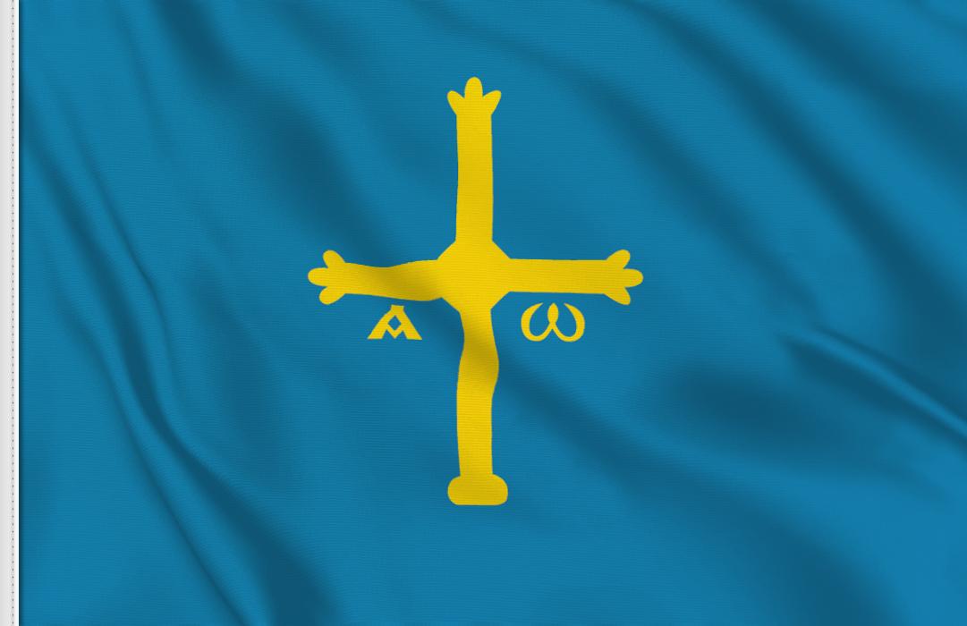 fahne Asturien, flagge von Asturien