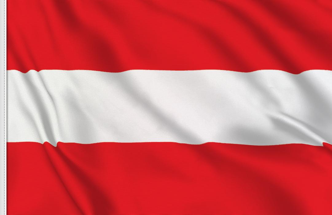 bandera adhesiva de Austria