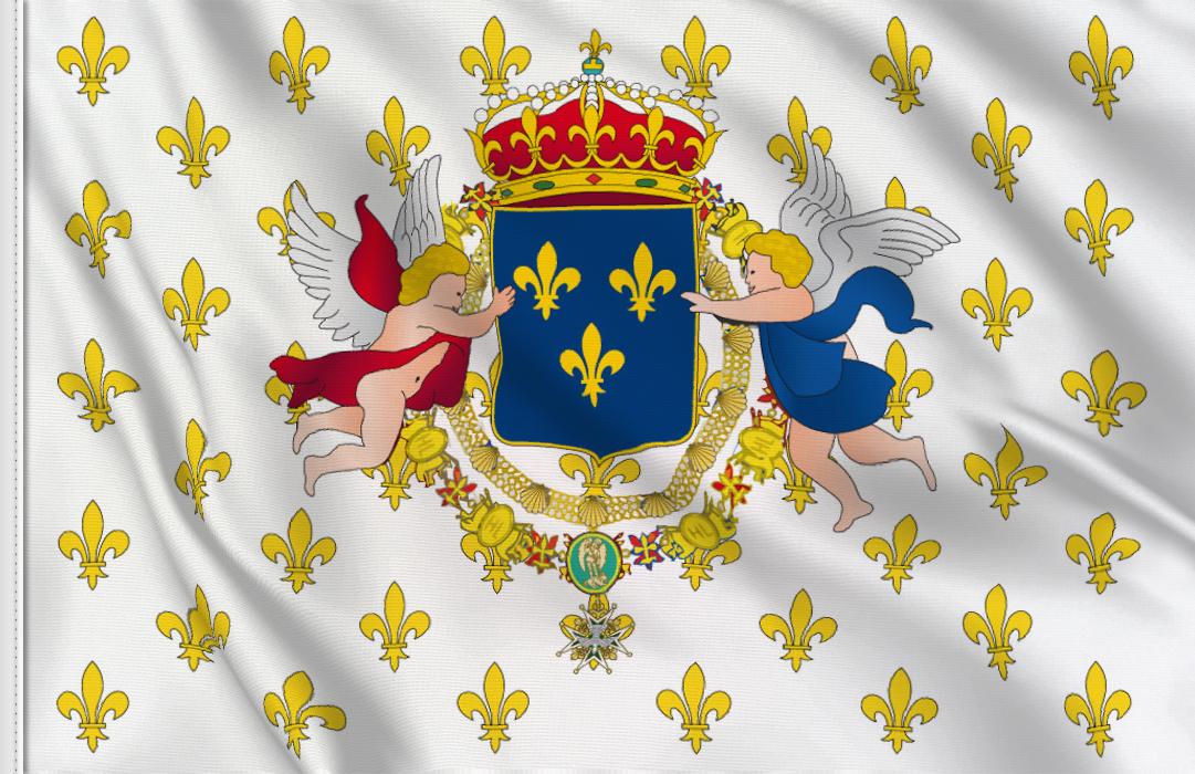 drapeau Royaume de France 163