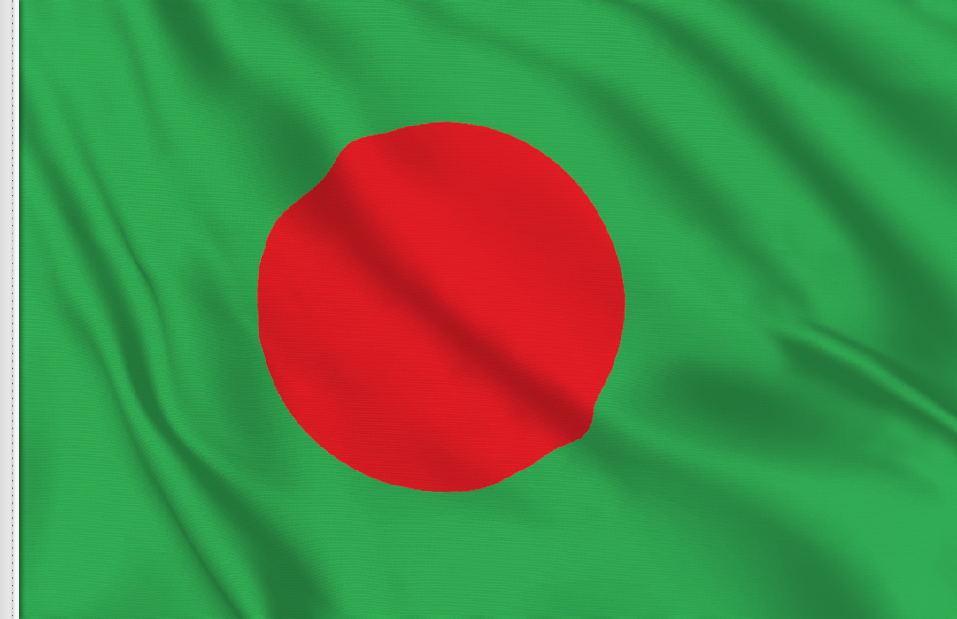 Flag sticker of Bangladesh