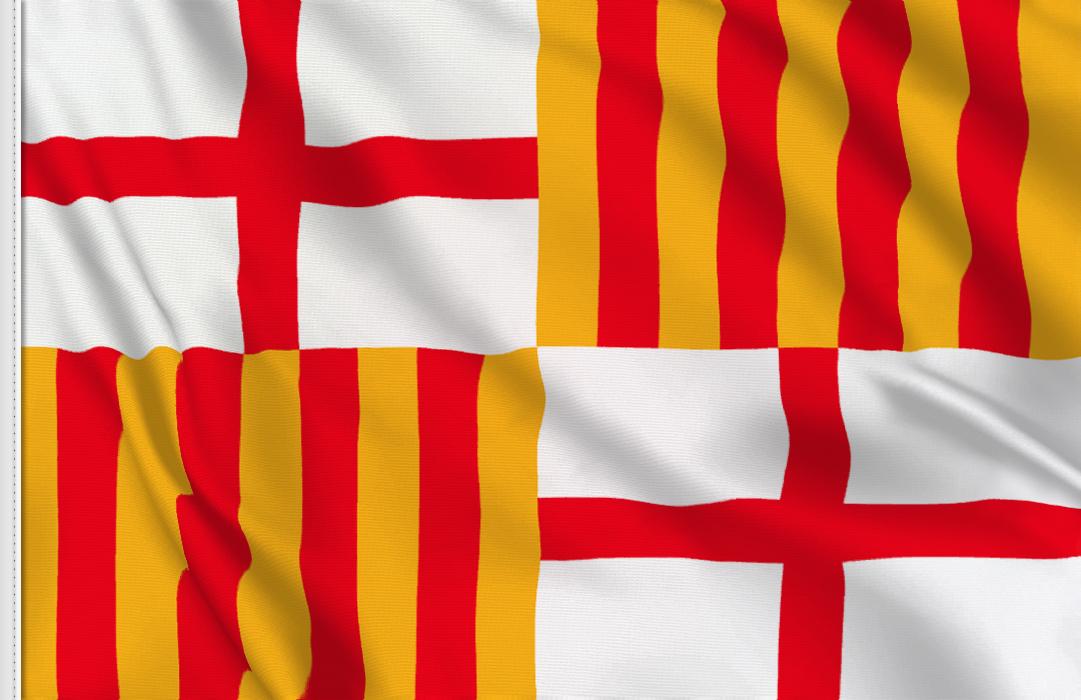 fahne Barcelona, flagge von Barcelona