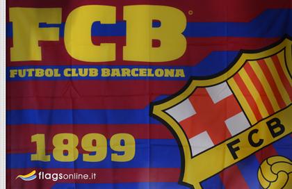 FC Barcelona official flag
