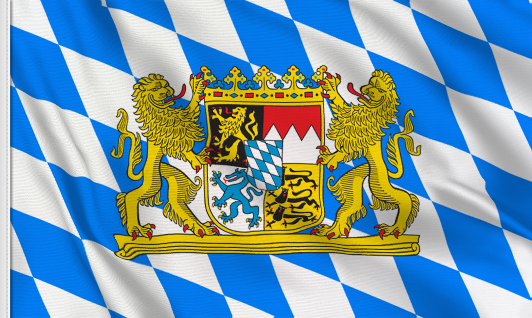 Bavaria-ensign flag