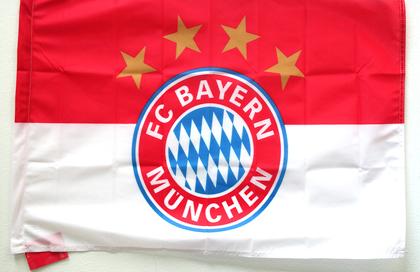 FC Bayern Monaco flag