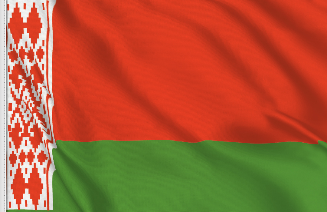 Belarus flag stickers