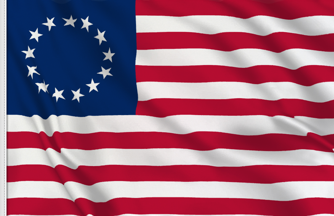 fahne Betsy Ross, flagge von Betsy Ross