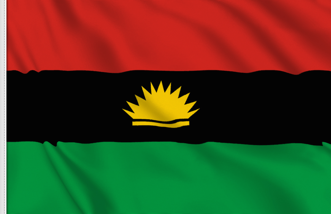 fahne Biafra, flagge der Republik Biafra