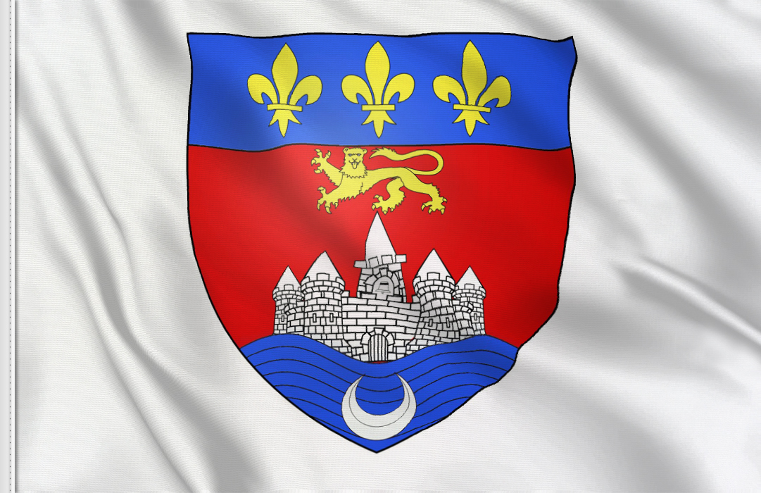 fahne Bordeaux, flagge von Bordeaux