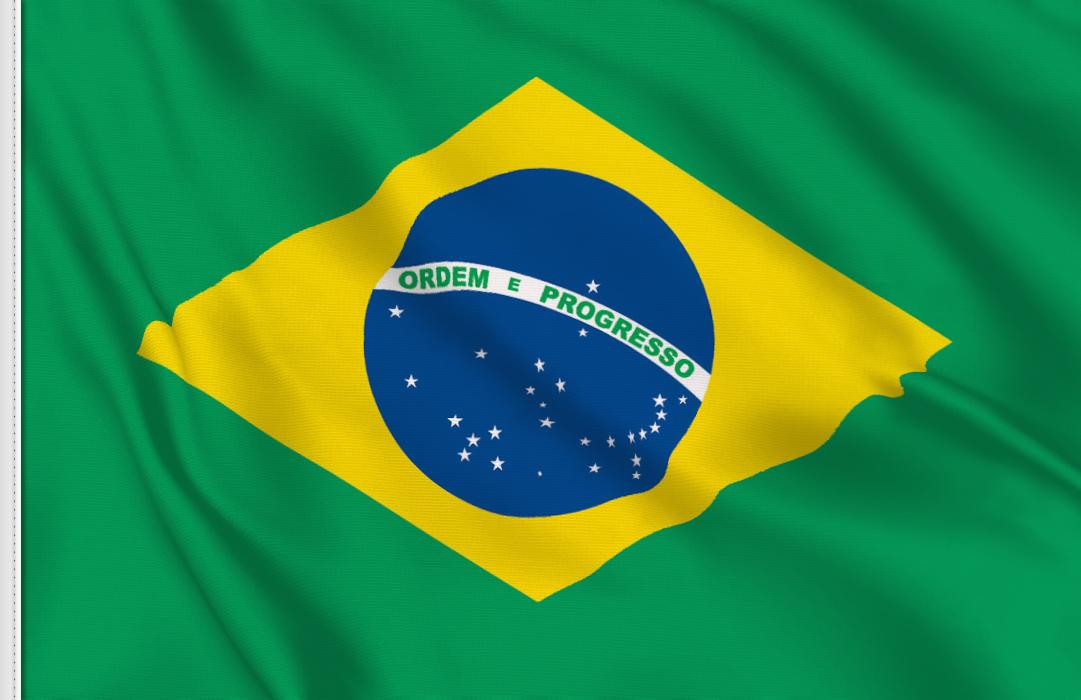 Brasilien aufkleber fahne