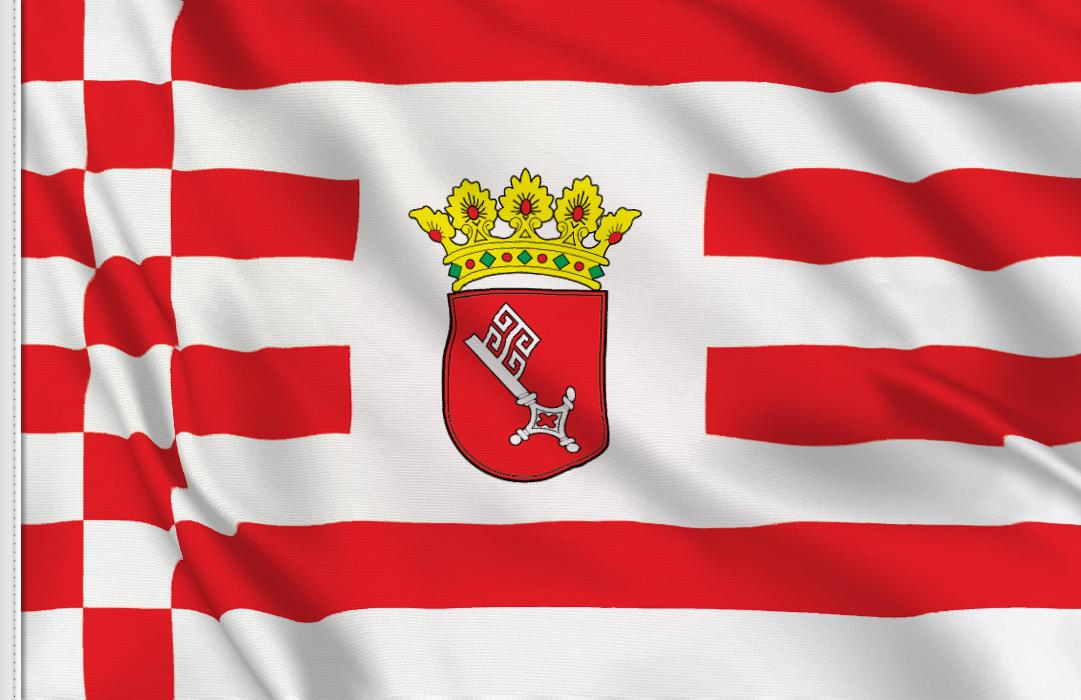Bremen aufkleber fahne