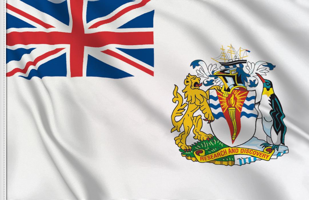 fahne Britische Antarktis, flagge antarktische