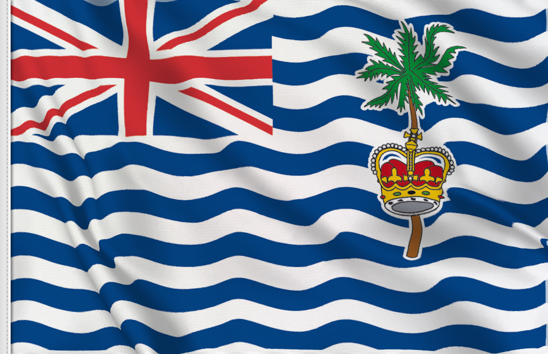 British Indian Ocean flag