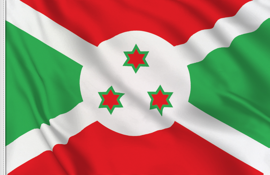 Burundi table flag