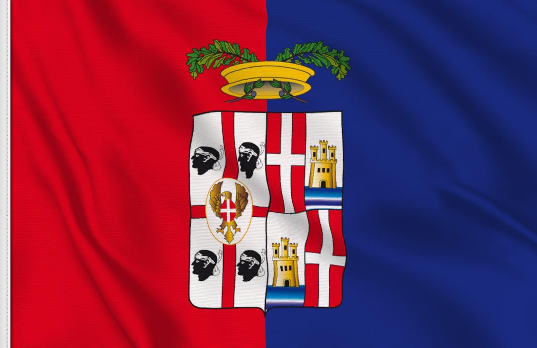 Cagliari-province flag