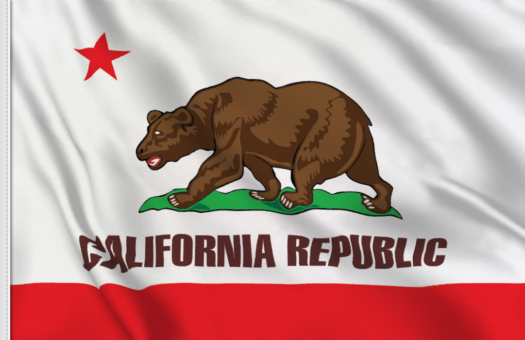 California flag stickers
