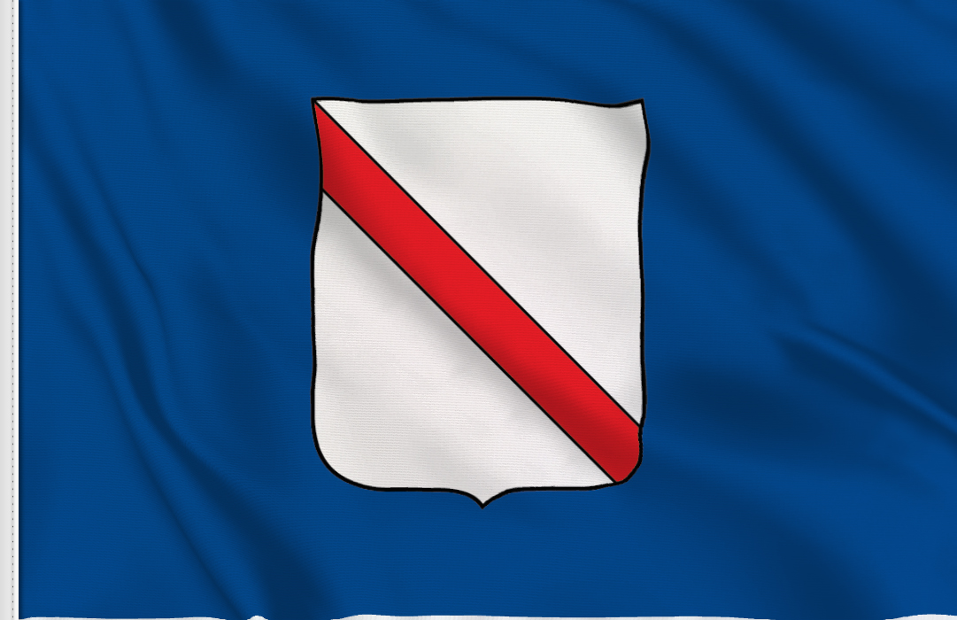 bandera pegatina de Campania